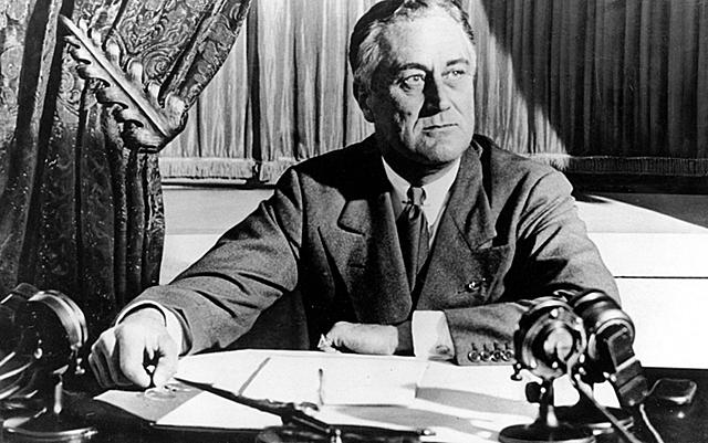 Franklin D. Roosevelt arriva al poder
