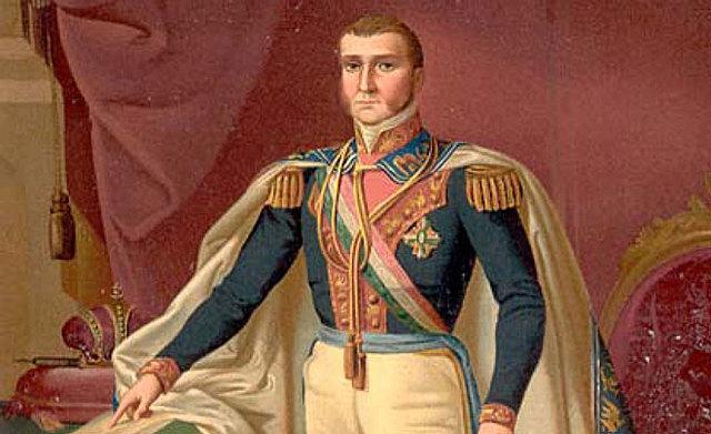Iturbide se corona como emperador
