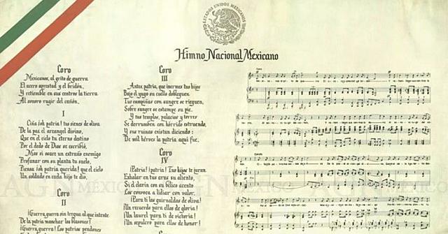 Se compone el Himno Nacional