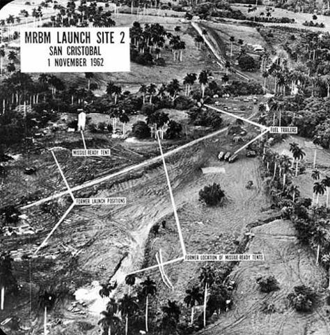 Start of Cuban Missile Crisis