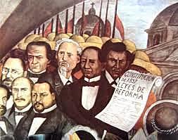 Se proclaman las Leyes de Reforma