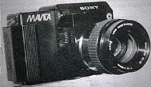 fabrication d'un appareil photo magnétique,ancètre du numérique:le Mavica
