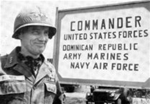 US occupies Dominican Republic