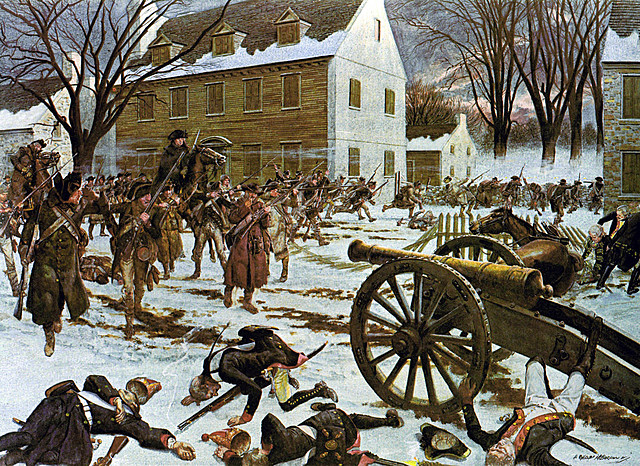 Battles of Trent and New Jersey
