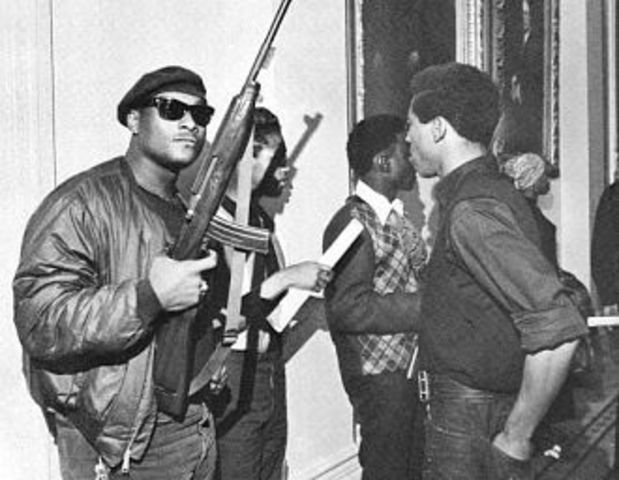 Black Panthers Founded