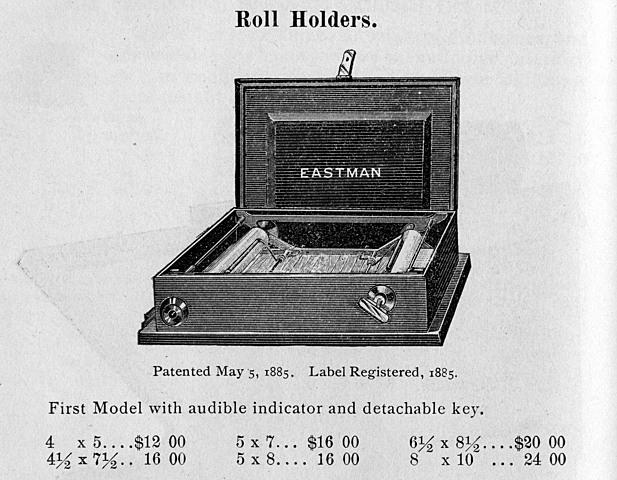 George Eastman's Roll Holder