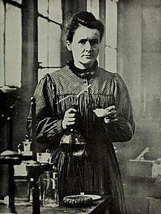 Zer ibilbide ikasi zuen Marie Curie-k?
