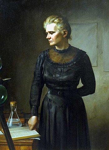Zer egin zuen Marie Curie emakumeek?