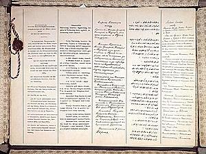 Tratado de Brest-Litovsk.