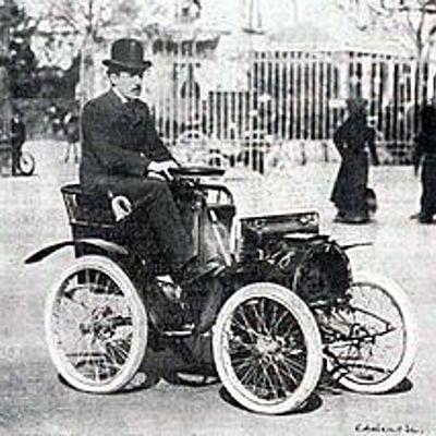 historia de la evolución del carro timeline