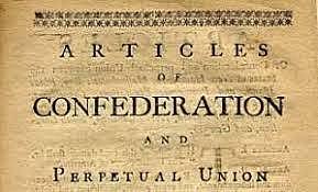 1777 -  Articles of Confederation