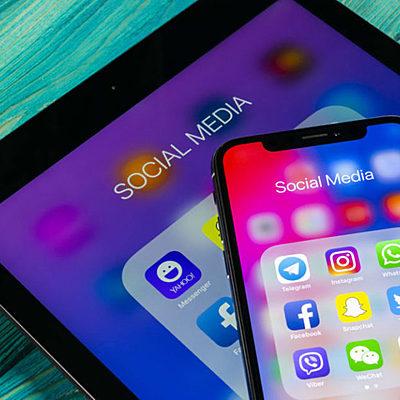 Redes sociales a través de los años timeline