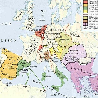 Siglo XVI timeline