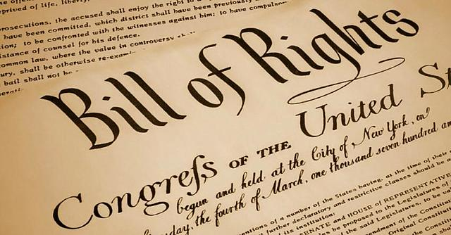 The Bill of Rights being ratified by 3/4 of the states