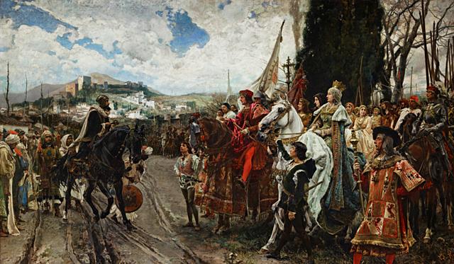 14 -  Conquista del reino Nazari.