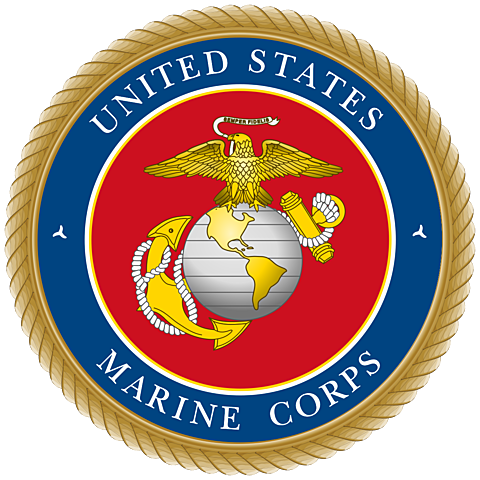 The United States Marine Corps being established