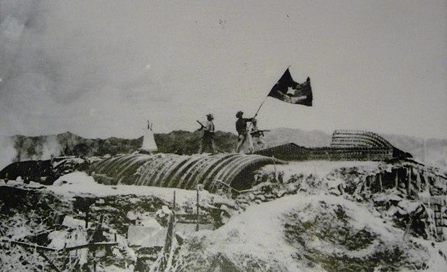 French Surrender at Dien Bien Phu