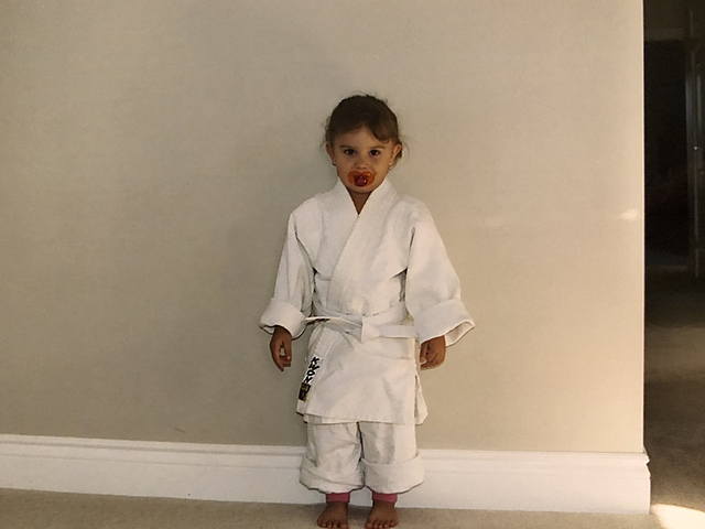 Started doing Karate.