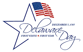 Dec 7th of '87 - Delaware fist state to approve Constitution