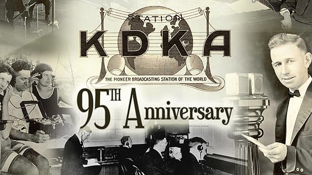 First radio broadcast in Pittsburgh, Pennsylvania