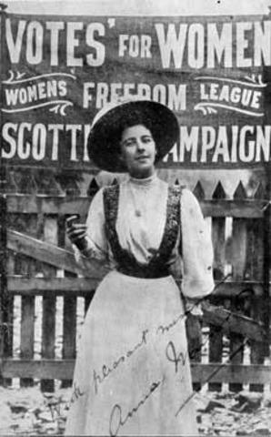 Women's Suffrage!