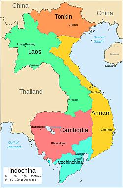 Japanese Invade Southern Indochina