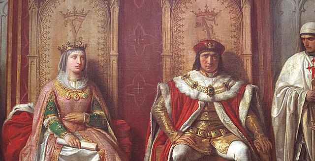 Matrimonio de Isabel I de Castilla Y Fernando II de Aragón.