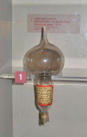 Invenció de la bombeta