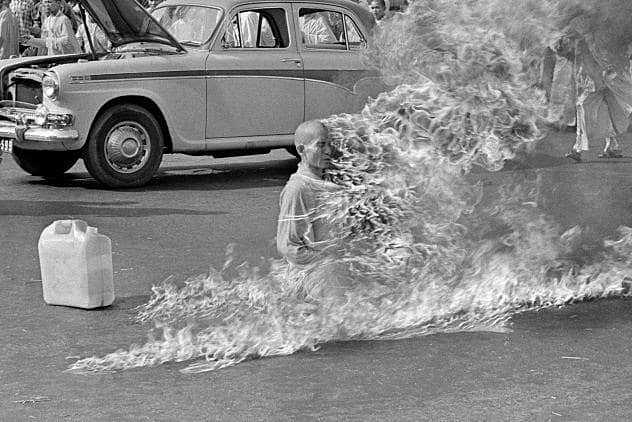Buddhist Monk Self-Immolates