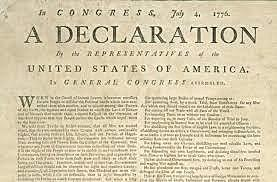 The Signing of The Deceleration of Independence
