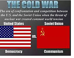 The Cold War began between the United States and the Soviet Union Korean War