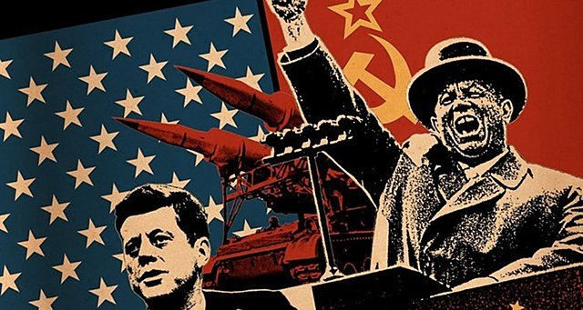 The Cold War began between the United States and the Soviet Union