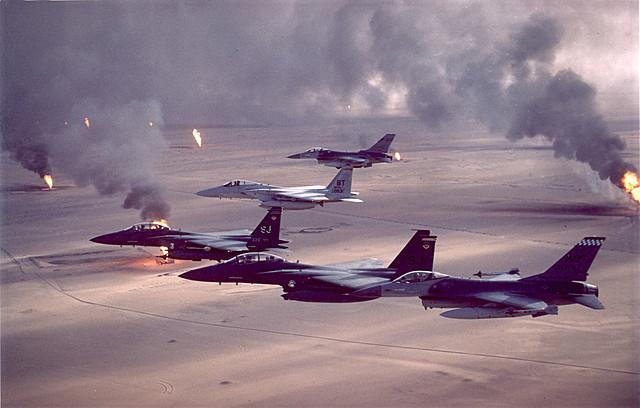 Gulf War (Operation Desert Storm)