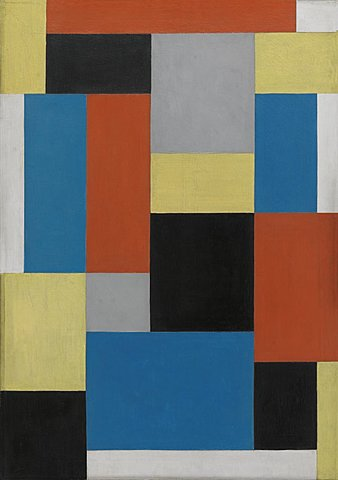 Composición XX de Theo van Doesburg