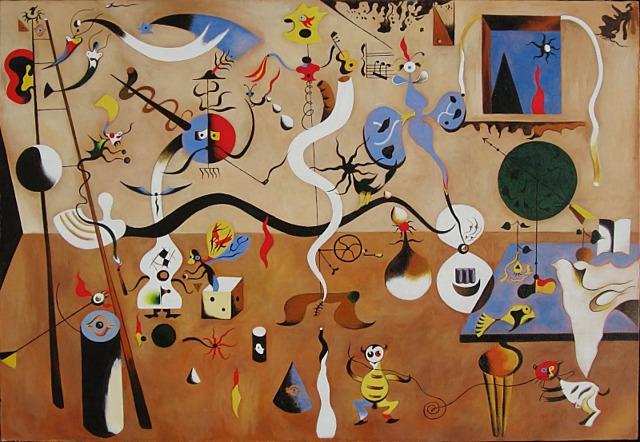 El carnaval del arlequín de Miró