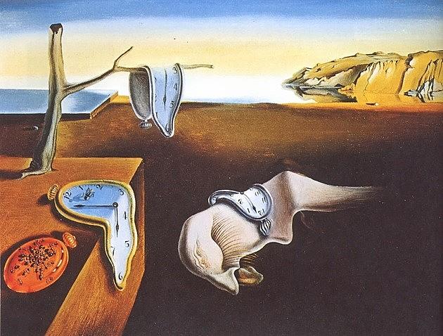 Persistencia de la memoria de Dalí