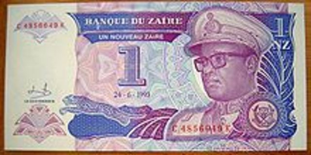 The Republic of Zaïre officially joins the World Trade Organization, as Zaïre.