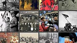 Eixo cronolóxico da Historia Contemporánea. Grupo 1ºE. timeline