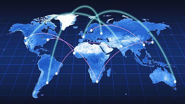 Сеть становится международной