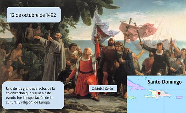 Llegada a Santo Domingo
