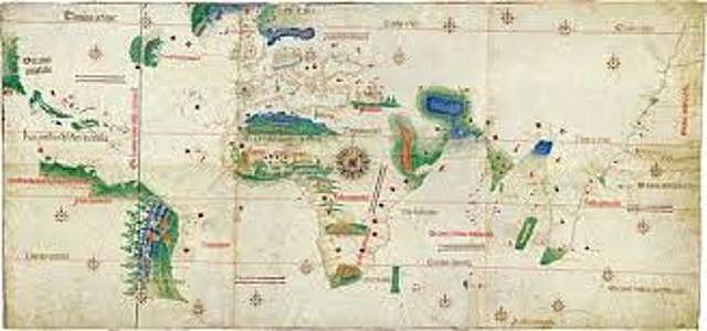 Firma del Tratado de Tordesillas entre Castilla y Portugal