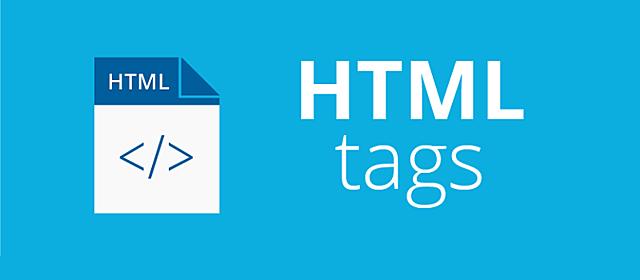 Publicación de HTML Tags