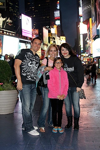 My family went to NYC for a week.