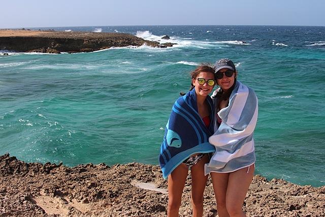 Trip to Aruba.