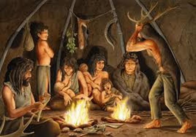 El descubrimiento del fuego y la caza