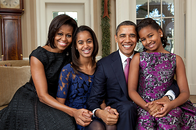 Barack Obama is elected as the first black U.S. president.