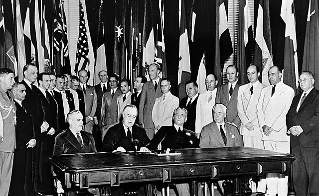 Origen de la Organización de las Naciones Unidas