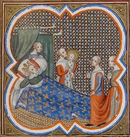 Blanche de Castille régente du Royaume de France