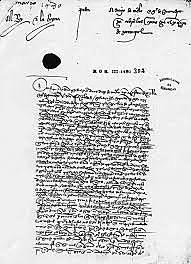 15- Decreto de expulsión de los Judios.