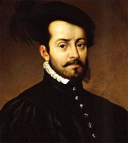 Hernán Cortés llega a América